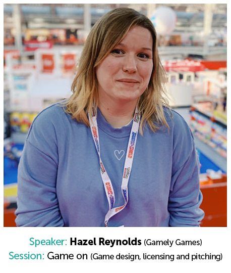 Hayzel Reynolds, Gamely Games