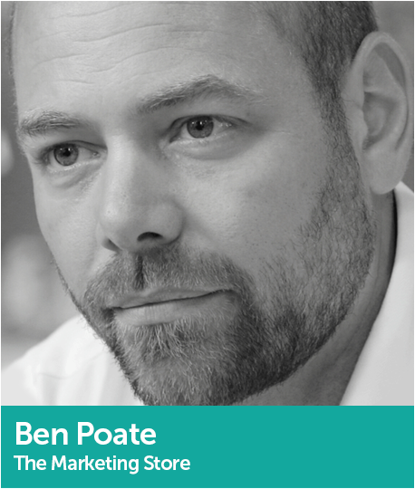 Ben Poate, VP of Sustainability and Innovation, The Marketing Store