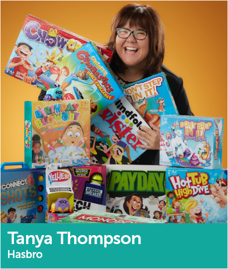 Tanya Thompson, Director, Global Product Acquisition, Gaming, Hasbro