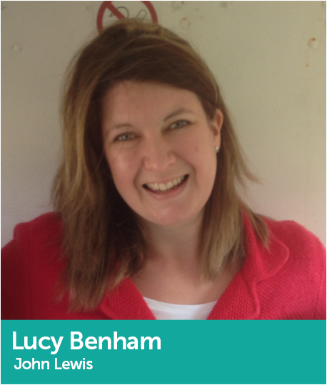 Lucy Benham, Partner and Assistant Buyer, Gift, Games and Candleshop, John Lewis