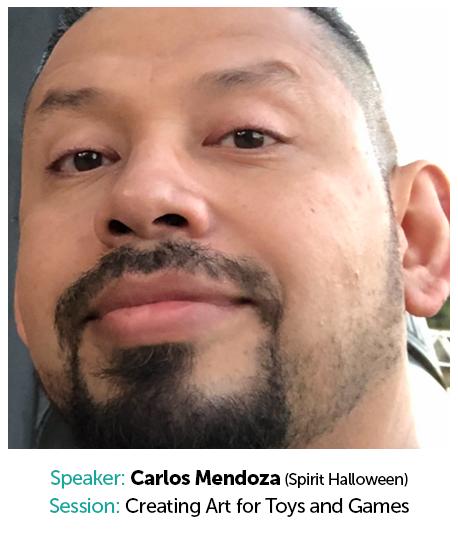 Carlos Mendoza, Spirit Halloween