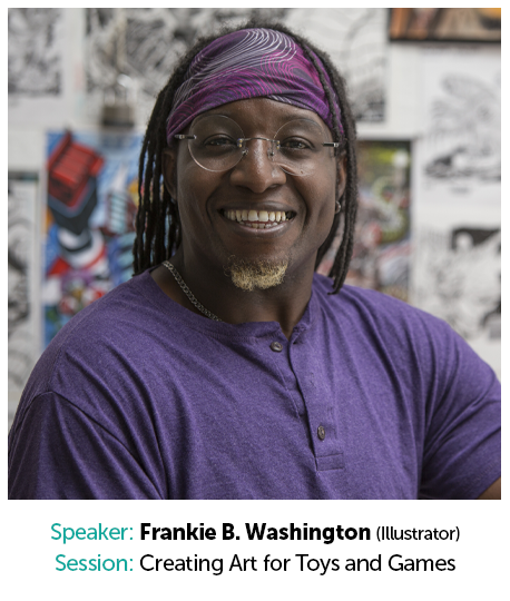 Frankie B. Washington, Freelance Illustrator