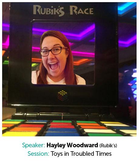 Hayley Woodward, Rubik's
