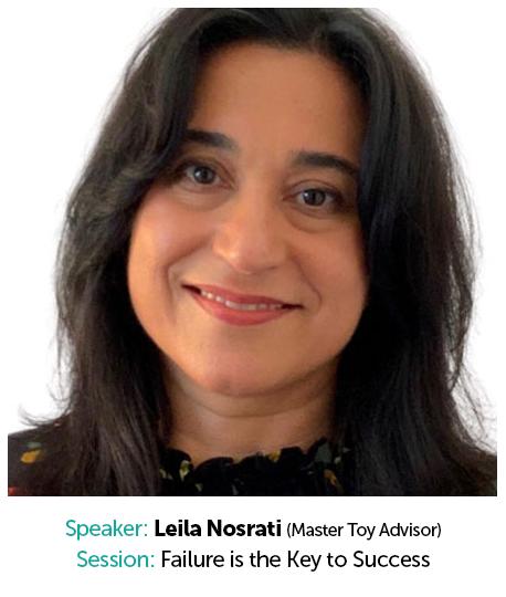 Leila Nosrati, Master Toy Advisor