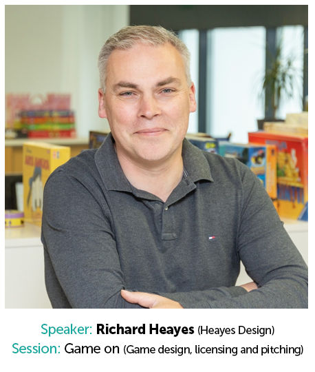 Richard Heayes, Heayes Design