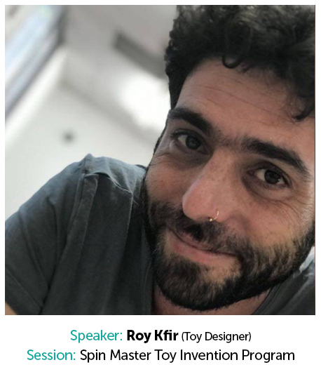 Roy Kfir, Toy Designer